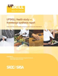 UPSKILL Health synthesis report_cover2